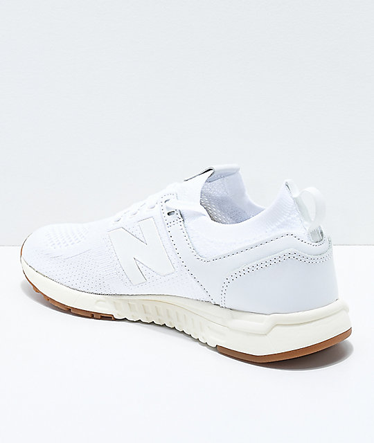 New Balance Lifestyle 247 Deconstructed White Shoes