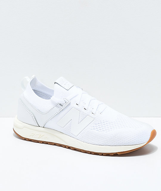 new balance 247 grey white