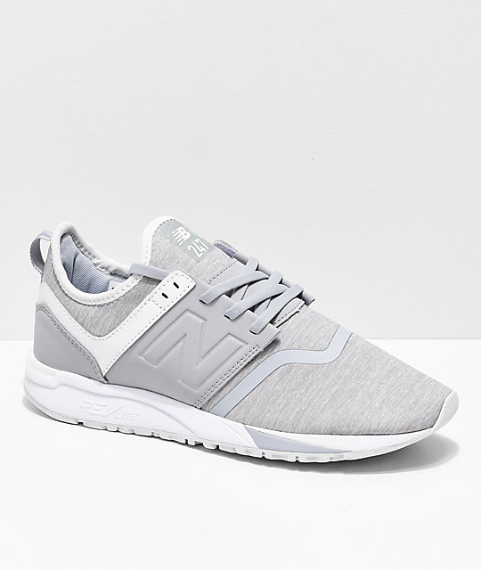 new balance 247 gris homme