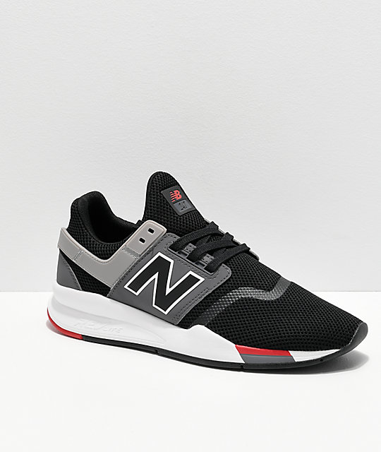 New Balance Lifestyle 247 V2 Black, Grey & White Shoes