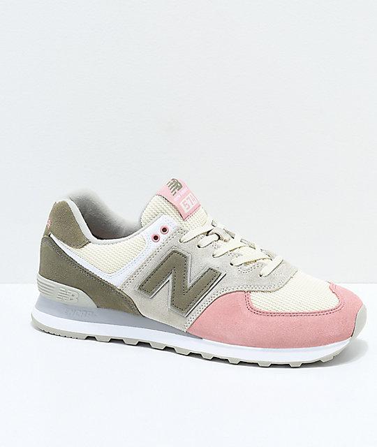 New Balance 574 Dusted Peach