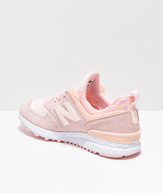 New Balance Lifestyle 574 Sport Sunrise Glow Shoes