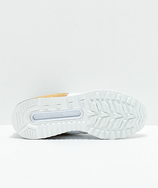 New Balance Lifestyle 574 Sport White & Hemp Shoes