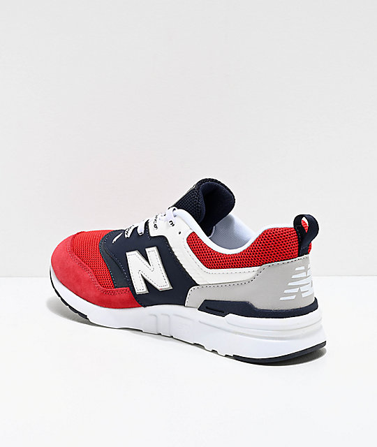 New Balance Lifestyle 997H Blue, White & Red Shoes