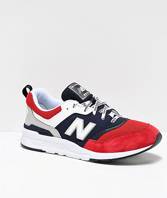 echt comfortabel premium selectie best verkocht New Balance Lifestyle 997H Blue, White & Red Shoes