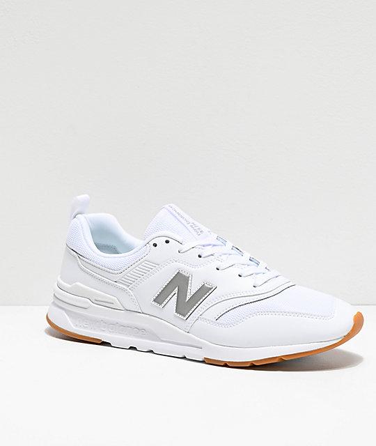 New Balance Lifestyle 997H zapatos blancos y plateados