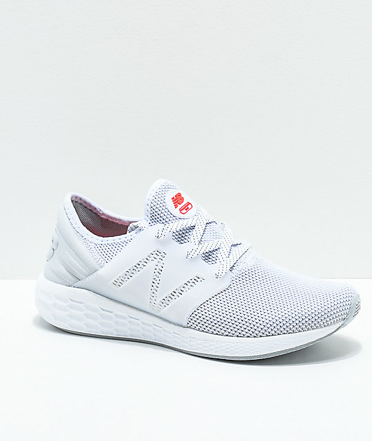 New Balance Lifestyle Fresh Foam Cruz zapatos blancos