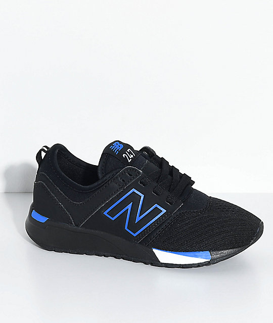 New Balance 247 Chaussures De Sport Classiques - Bleu OecDgk7