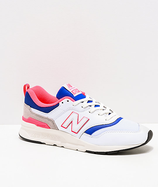 new balance pink and blue