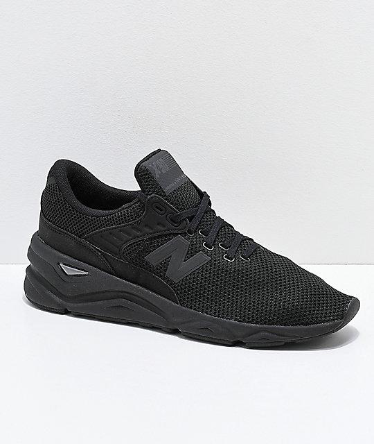 eab192900b17d New Balance Lifestyle X-90 Black Shoes | Zumiez