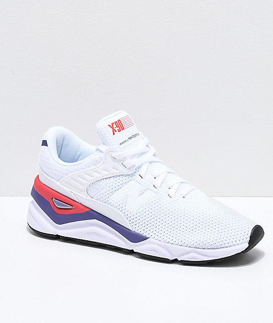 2ccd126457685 New Balance Lifestyle X90 Munsell zapatos blancos e índigo ...