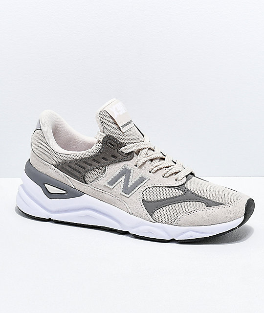 check out presenting timeless design New Balance Lifestyle X90 Reconstruct Moonbeam & Rock Shoes