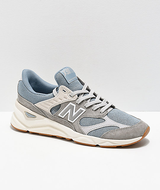 size 40 cbc7d 7a3df New Balance Lifestyle X90 Reconstructed Cyclone zapatos azules y grises ...
