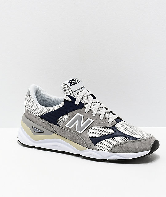 bcc7e73c91436 New Balance Lifestyle X90 Reconstructed Marblehead & Pigment Blue Shoes |  Zumiez