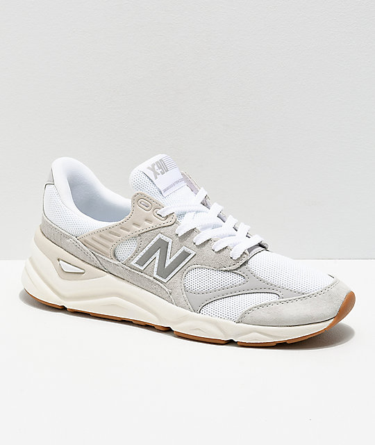 New Balance Lifestyle X90 Reconstructed Nimbus White & Moon Grey Shoes