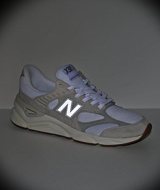 brand new 7fbd0 86180 ... New Balance Lifestyle X90 Reconstructed Nimbus zapatos blancos y grises  ...