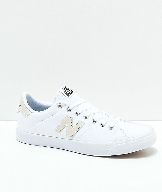New Balance Numeric 210 White & Black Skate Shoes