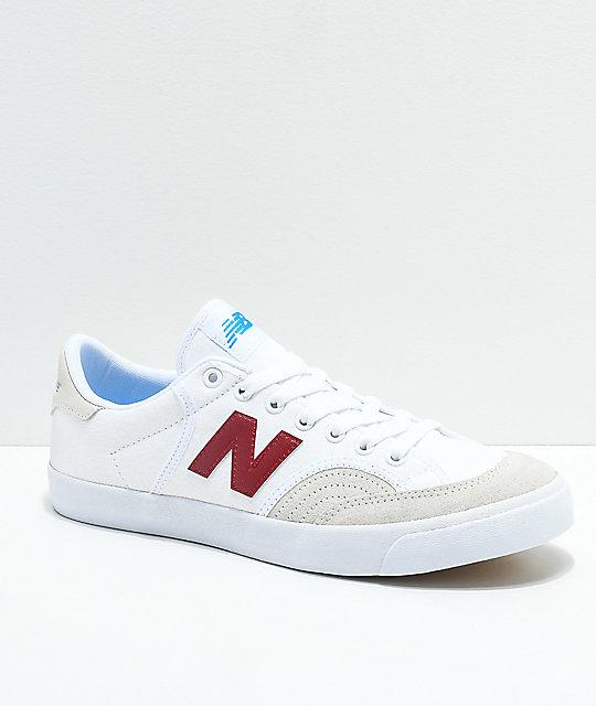 NEW BALANCE Numeric 212 scarpe da skate white/blue