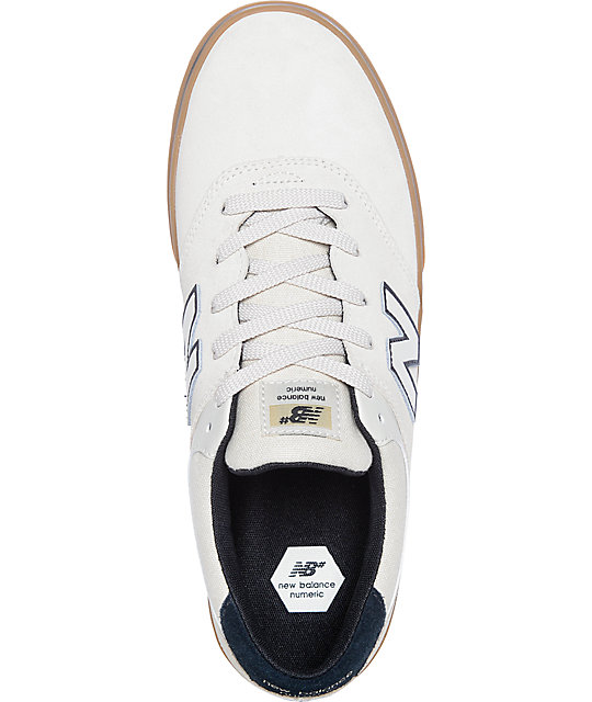 New Balance Numeric 254 Quincy Cloud White & Gum Shoes