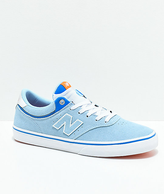 New Balance Numeric 255 Skate Shoes Sky/White