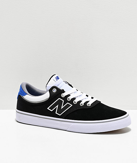 new balance azul y blanco