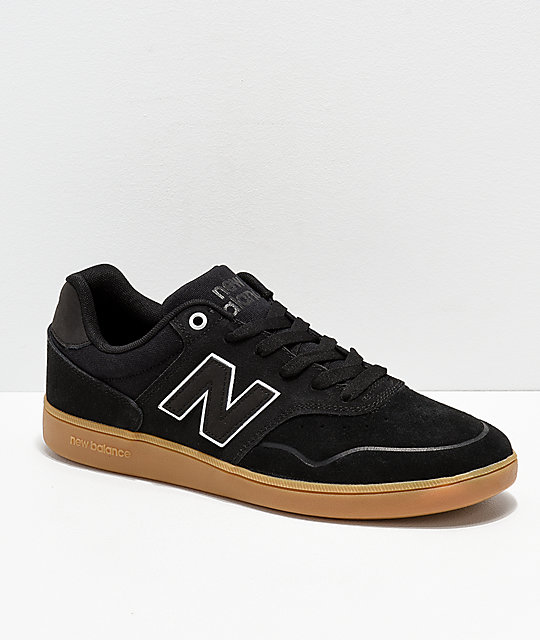 new balance black and brown