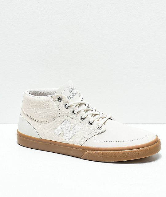 New Balance Numeric 346 Tan & Gum Skate Shoes