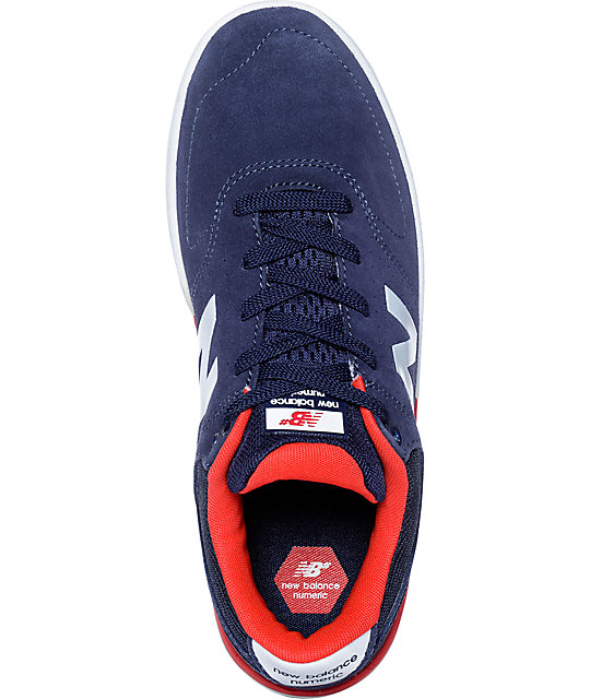 f7233eb3ed54 ... New Balance Numeric 533 Stratford Boston Navy Shoes ...