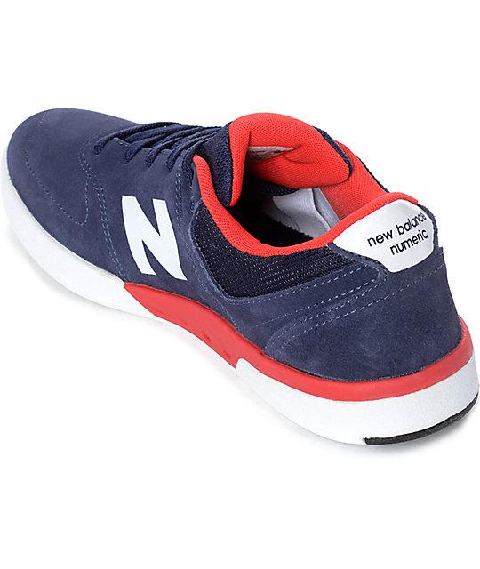 ... New Balance Numeric 533 Stratford Boston Navy Shoes ... 2e709f8b4637
