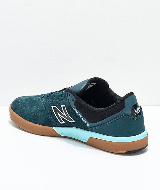 700f15054fc1f ... New Balance Numeric PJ 533 V2 Forest Green, Black & Gum Skate Shoes ...