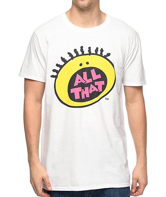 Nickelodeon All That White T Shirt Zumiez
