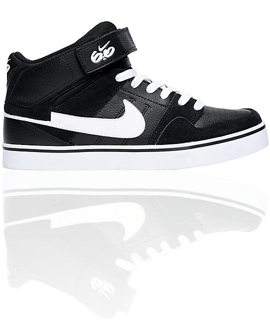 47afc2fb1214 ... Nike 6.0 Air Mogan Mid 2 SE Black   White Shoes