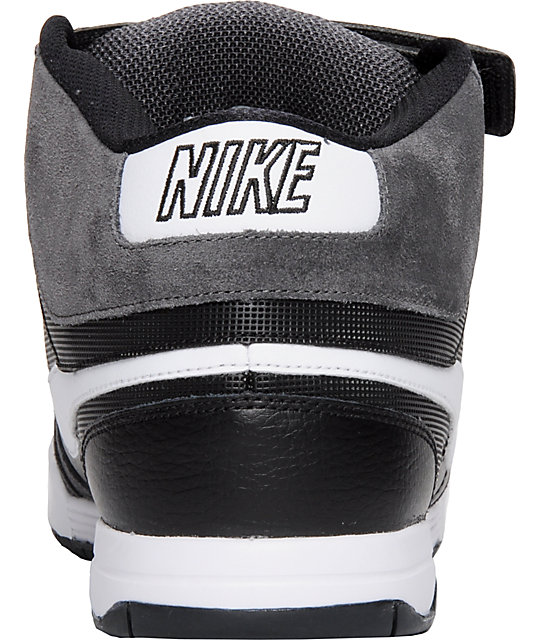 Nike 6.0 Air Mogan Mid Black & Shadow Shoes