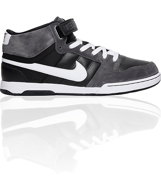 reputable site 9f8f5 a3a44 Nike 6.0 Air Mogan Mid Black  Shadow Shoes  Zumiez