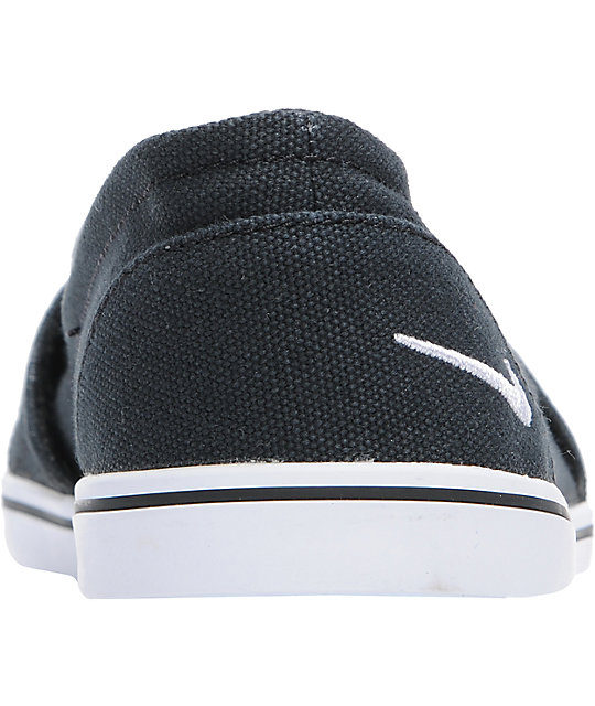 Nike 6.0 Balsa Lite Black Canvas Shoes
