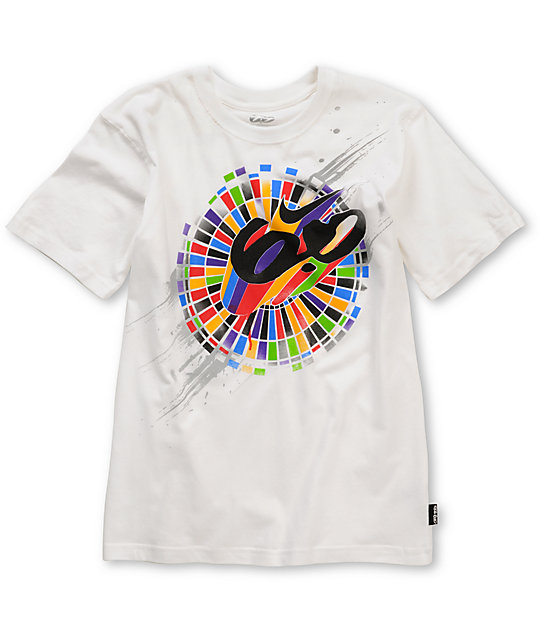 Nike 6.0 Boys Burst White T-Shirt