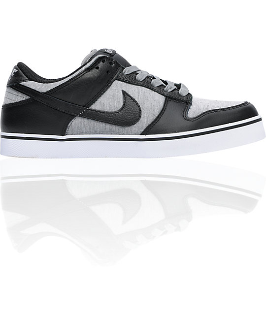 Nike 6.0 Dunk SE Black, Medium Grey & White Shoes