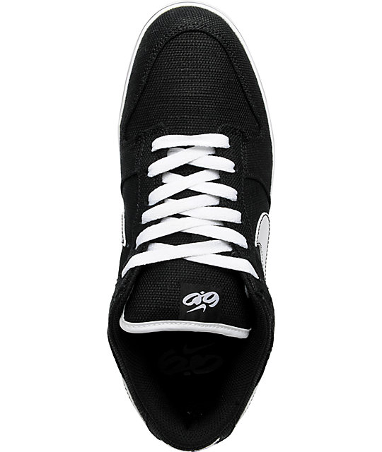 Nike 6.0 Dunk SE Black Canvas Shoes