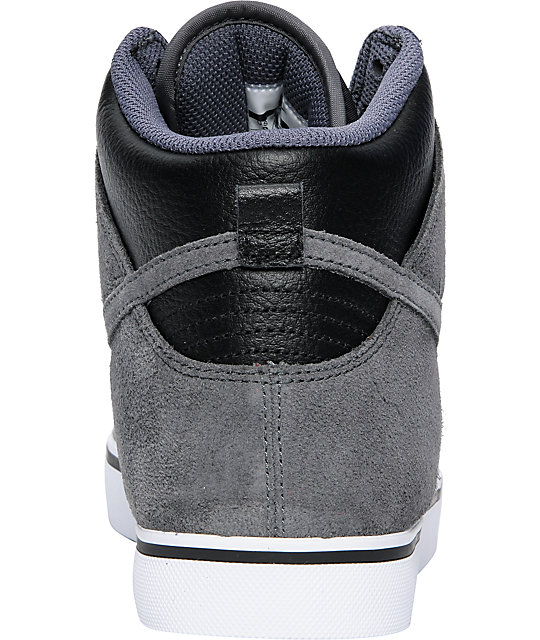 Nike 6.0 Dunk SE High Black & Dark Grey Shoes