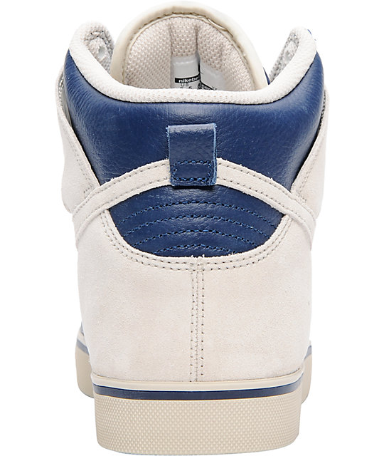 Nike 6.0 Dunk SE High Navy & Birch Shoes