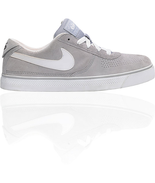 bf1d9a4938695 Nike 6.0 Mavrk 2 Low Grey   White Shoes   Zumiez