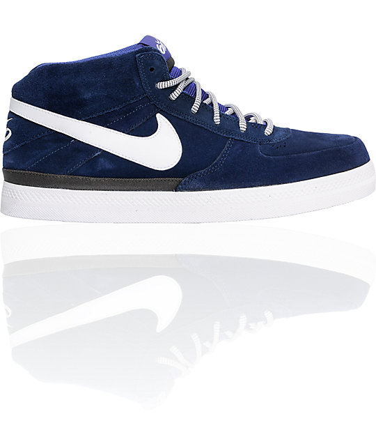Nike 6.0 Mavrk 2 Mid Varsity Blue Shoes