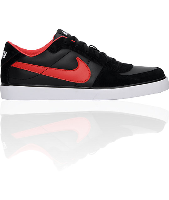 Nike 6.0 Mavrk Black & Red Shoes