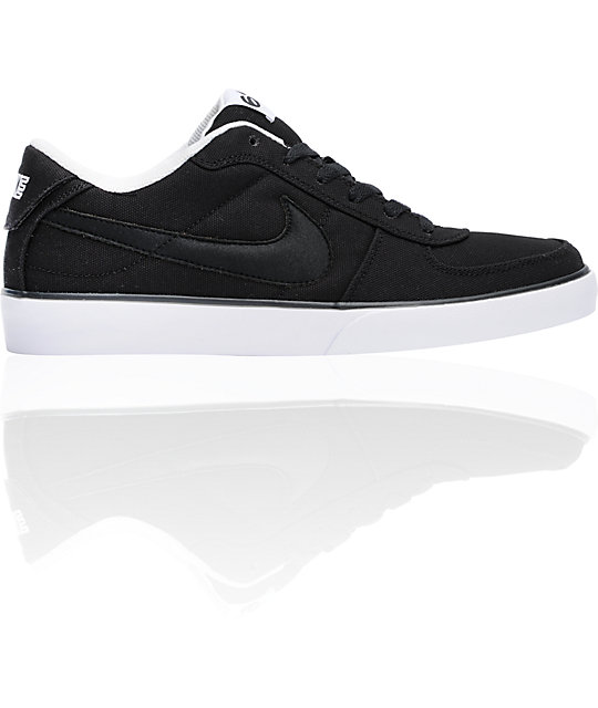 Nike 6.0 Mavrk Black Canvas Shoes