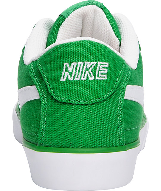 Nike 6.0 Mavrk Canvas Victory Green & White Shoes