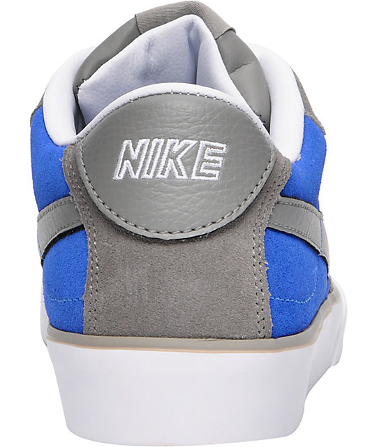 Nike 6.0 Mavrk Grey & Blue Shoes
