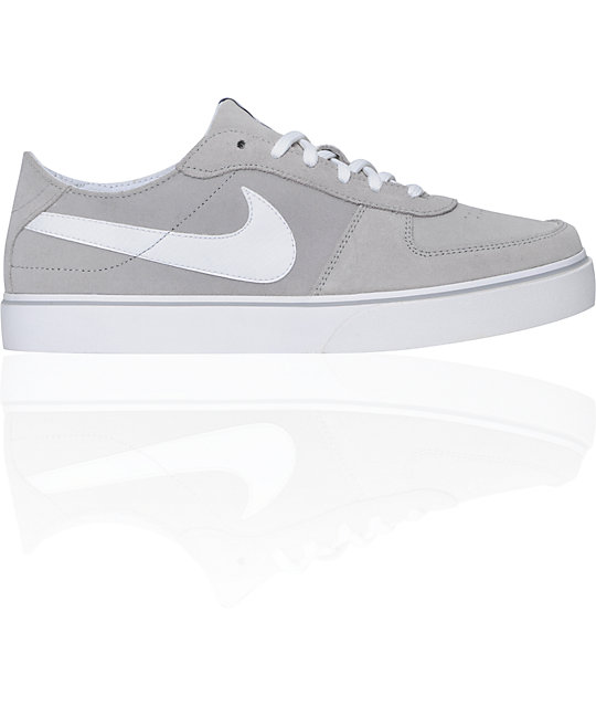 Nike 6.0 Mavrk Grey & White Shoes