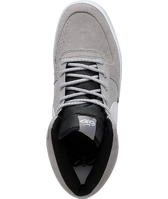 Nike 6.0 Mavrk Mid 2 Grey, White & Black Shoes