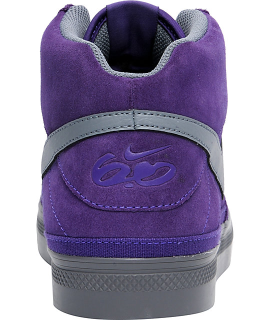 Nike 6.0 Mavrk Mid 2 Purple & Grey Shoes
