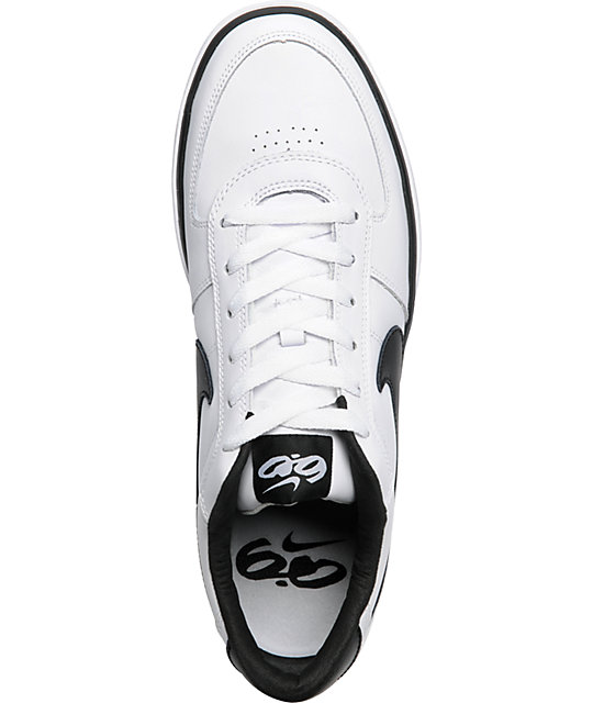 Nike 6.0 Mavrk White & Black Shoes